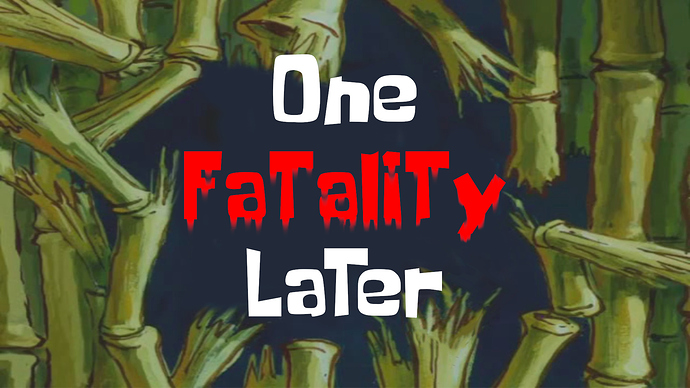 One Fatality Later