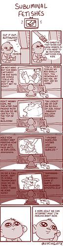 fetish cartoons