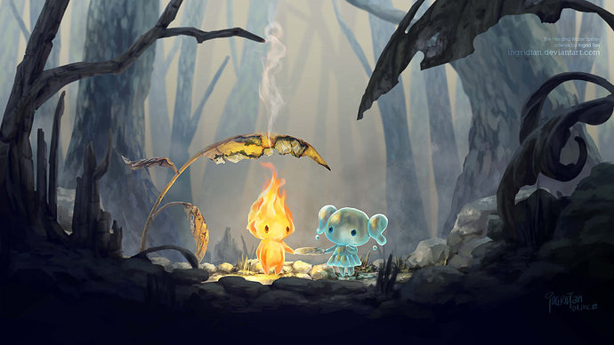 the_fire_and_water_sprites_by_ingridtan_d5n4uv9