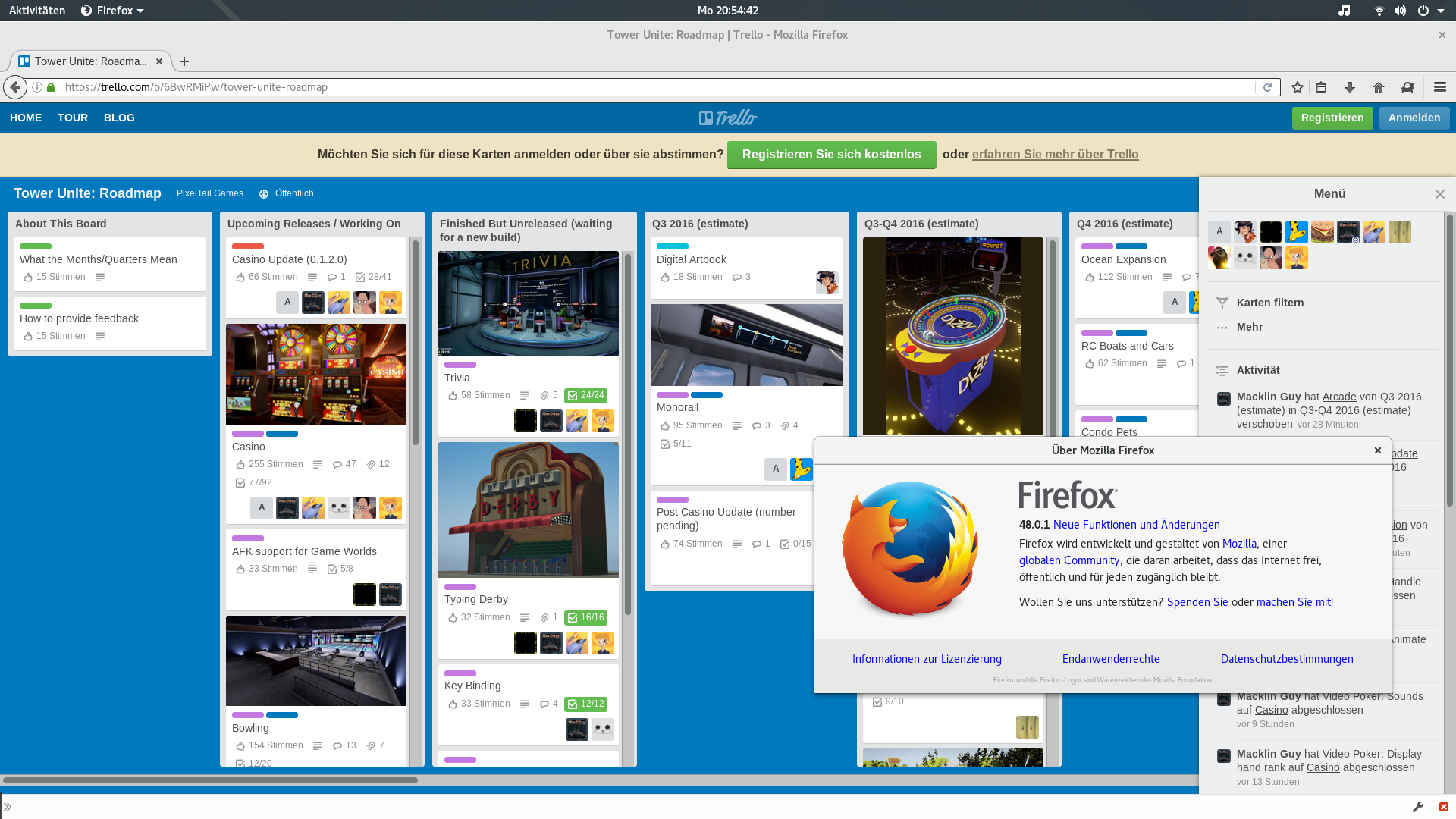 Trello and Firefox beta - Off Topic - PixelTail Games