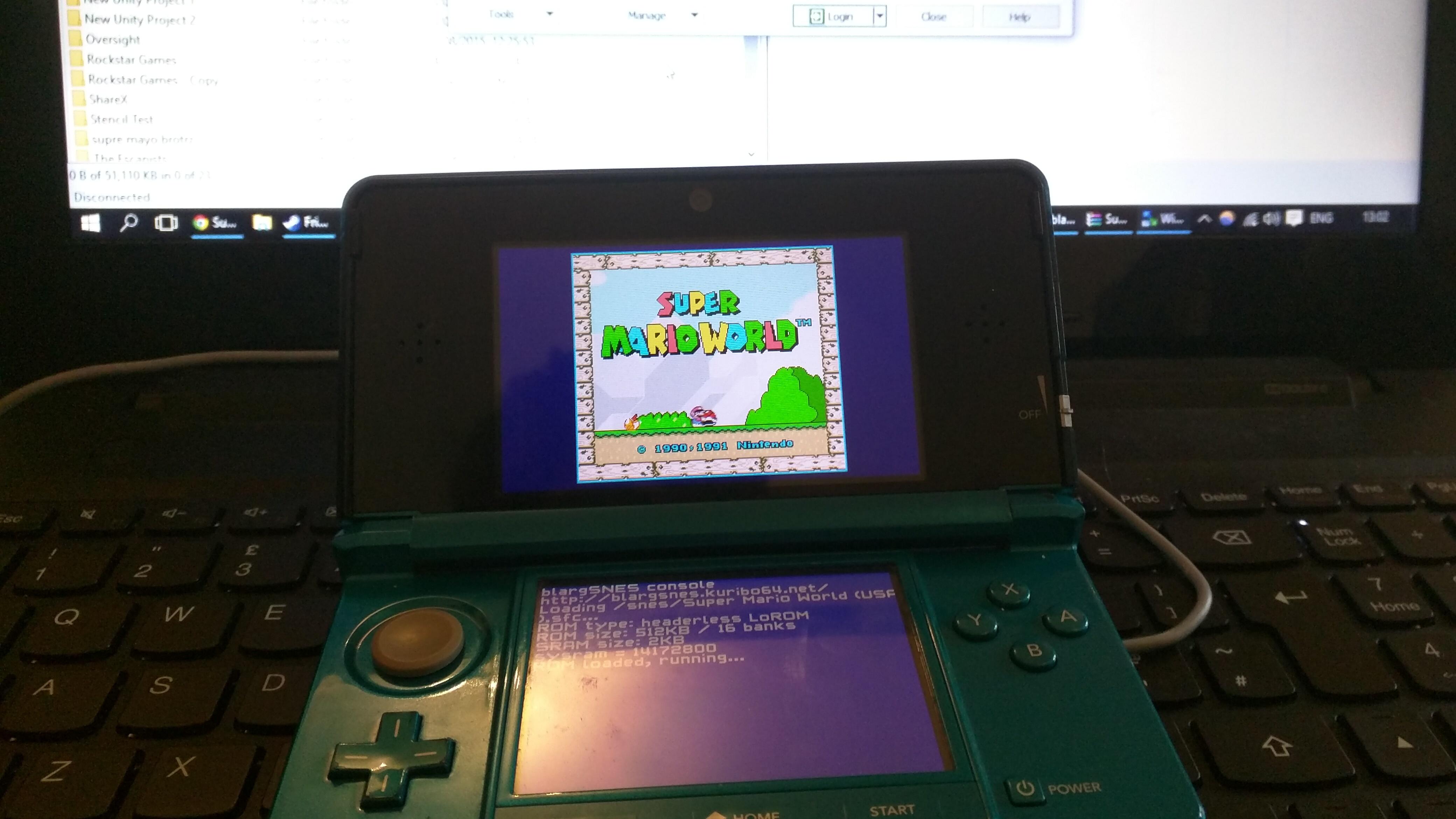Nintendo 3ds Homebrew Roms