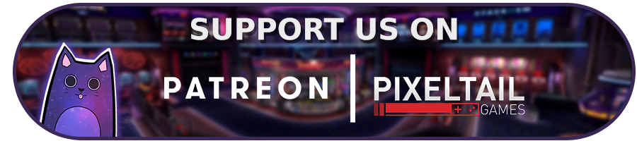 Support PixelTail Games on Patreon