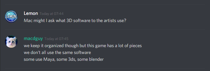 What 3D modeling software is used?
