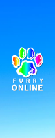 furry-online-game-logo-flag-vertical